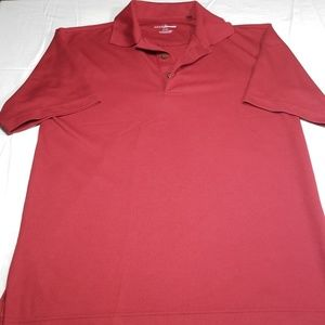 Red Golf Polo
